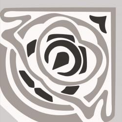 Angle - Orchydée noir et blanc