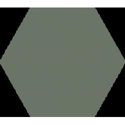 Hexagone - Gris vert