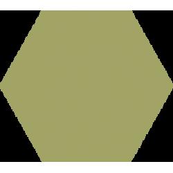 Hexagone - Vert olive