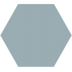 Hexagone - Bleu fumée