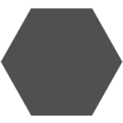 Hexagone - Anthracite foncé