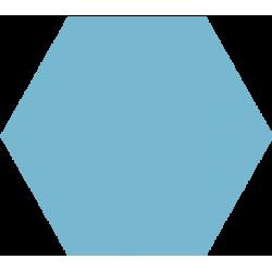 Hexagone - Bleu ciel