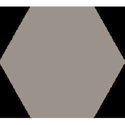 Hexagone - Beige foncé