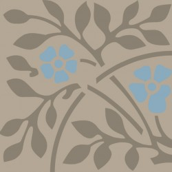 Bastide bleu